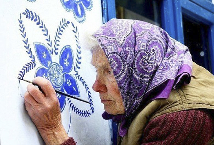 old Czech woman