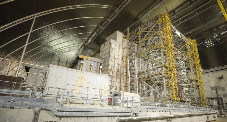Fungi That Eat Radiation Are Growing on the Walls of Chernobyl s Ruined Nuclear Reactor RealClearScience