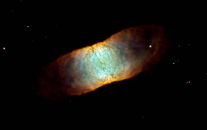 retina captured by Hubble Space Telescope