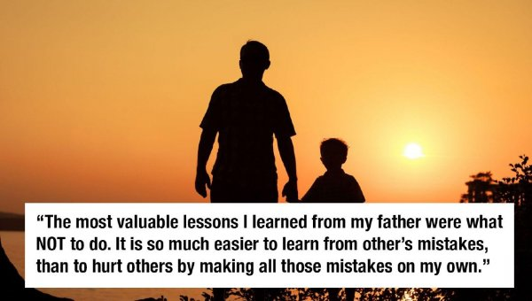 Father Son Lessons Learned In Life