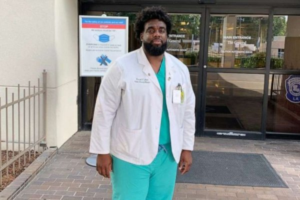 security guard turned doctor