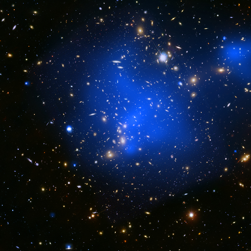 NASA Chandra Captured Abell 2744