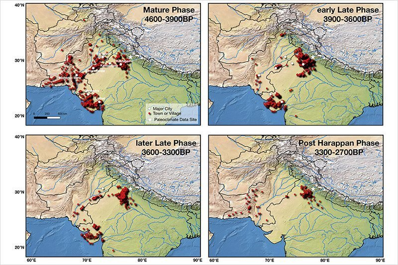 Indus valley climate change