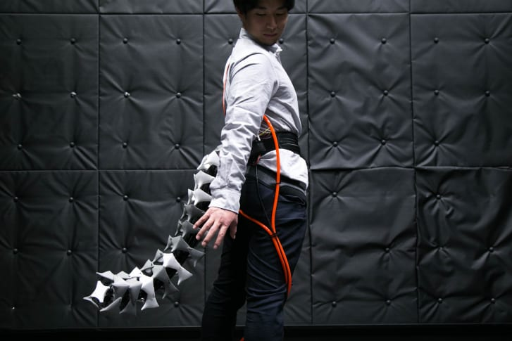The robotic tail 2
