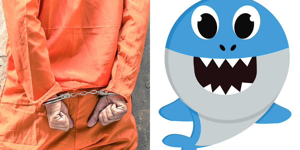 Oklahoma Guards Charged For Forcing Prisoners To Listen To Baby Shark