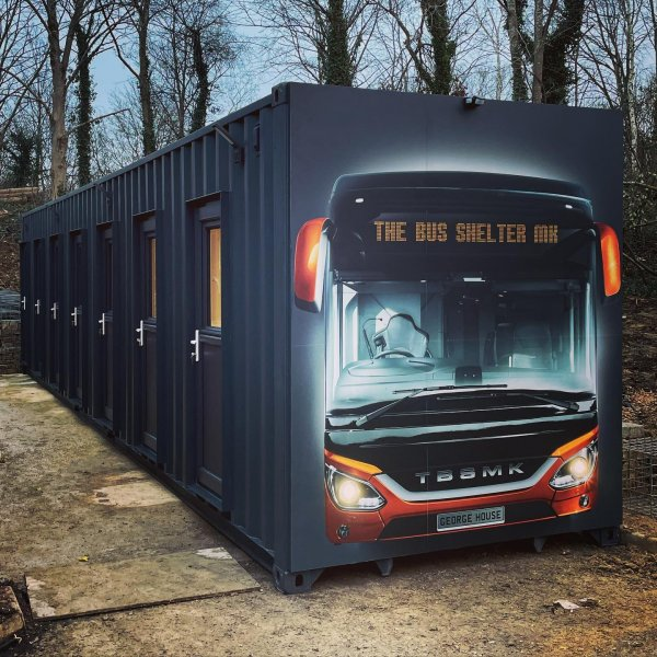 Container Bus Shelter